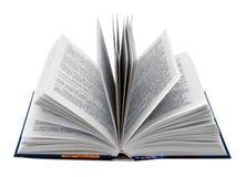 öppnad bok arkivbilder