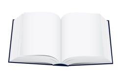 öppnad bok Arkivbild