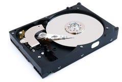Öppnad harddisk Arkivbilder