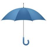 öppnad paraplyvektor Arkivbilder