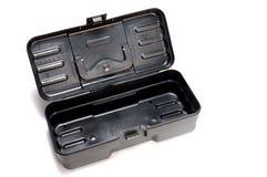 öppnad plastic toolbox Arkivfoton