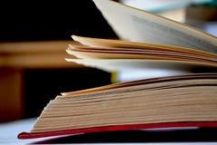 Öppnade gammala bokar Litteratur i arkivet arkivfoto