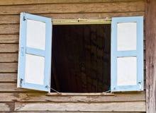 Öppnat fönster Arkivfoton