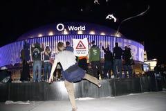 Öppning av arenan för värld o2 Arkivbild
