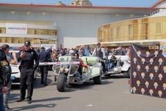 Öppning av motorcykelsäsongen Fotografering för Bildbyråer