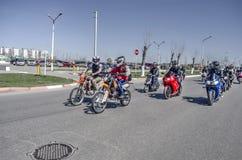 Öppning av motorcykelsäsongen Arkivbilder