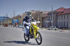Öppning av motorcykelsäsongen Royaltyfri Fotografi