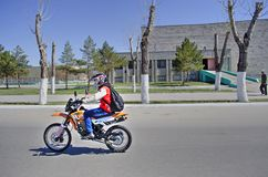 Öppning av motorcykelsäsongen Royaltyfria Foton