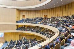 Öppningscermoni av den 50th årsdagen av OAUEN/AU Arkivbilder