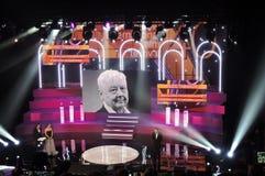 Öppningscermoni av den 40th MoskvaInternationalfilmfestivalen Royaltyfri Fotografi