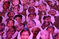 Vänder mot av världen Royaltyfria Foton