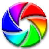 öppningskamerabegrepp Arkivfoton