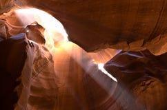 Öppningskanjon i Arizona Fotografering för Bildbyråer