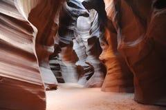 Öppningskanjon i Arizona arkivfoton