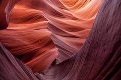 Öppningskanjon i Arizona Arkivbild