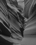 Öppningskanjon i Arizona Arkivfoto