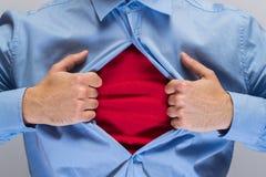 Öppningsskjorta Fotografering för Bildbyråer