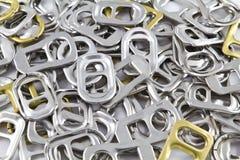 örat för den aluminium canen återanvänder Fotografering för Bildbyråer