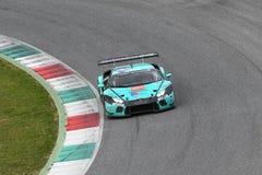 12 öre Hankook Mugello le 18 mars 2017 : #21 Konrad Motorsport, Lamborghini Huracan GT3 photographie stock