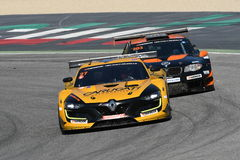 12 öre Hankook Mugello 18 marzo 2017: Estremo del GP #27, Renault RS01 GT3 Fotografie Stock Libere da Diritti