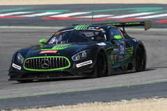 12 öre Hankook Mugello 18 marzo 2017: #38 ms Racing, Mercedes AMG GT3 Fotografia Stock