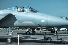 Örn F-15 Fotografering för Bildbyråer