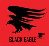 örn hök Flyg Eagle stock illustrationer