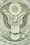 Örn på dollarräkningen Royaltyfria Foton