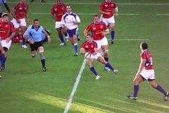 örnar spelar nationell rugby uruguay USA vs Royaltyfri Bild