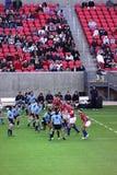 örnar spelar nationell rugby uruguay USA vs Royaltyfria Foton