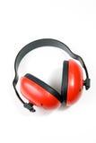öronskyddhearingskydd Fotografering för Bildbyråer