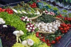 Örtar och grönsaker Arkivfoton