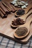 Örtar och kryddor Royaltyfria Foton