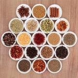 Örtar och kryddor Royaltyfri Bild