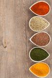 Örter och kryddagräns arkivbild