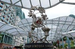 ösentosa singapore drömm laken Fotografering för Bildbyråer