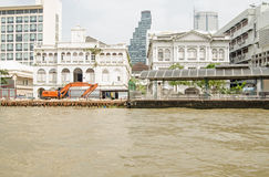 Öst Asiat Företag byggnad, Bangkok Arkivfoto
