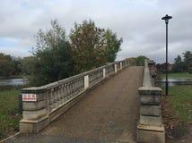 Öst parkerar bron i skrovet, Storbritannien royaltyfria foton