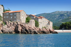 östefan sveti Montenegro Royaltyfri Bild