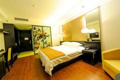 Österlänning-stil rum av ett hotell Royaltyfri Bild