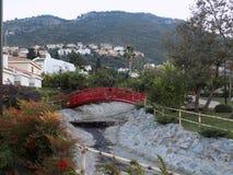 Österlänningen parkerar i Alhaurin de la Torre-Andalusia-Spanien Fotografering för Bildbyråer