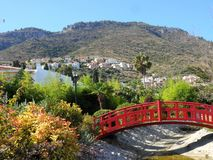 Österlänningen parkerar i Alhaurin de la Torre-Andalusia-Spanien Arkivfoton