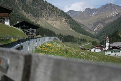 Österreich-Berge Lizenzfreie Stockfotos