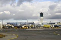 Österreich, Flughafen stockfotos