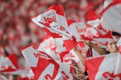 Österreich gegen Belgien Die Niederlande Lizenzfreie Stockbilder