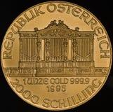Österreich-Goldmünze (fein) Stockbilder