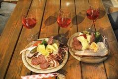 Österreich, Lebensmittel und Getränk stockfotos