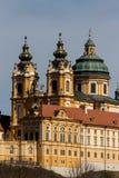 Österreich, Niederösterreich, melk Abtei Lizenzfreies Stockfoto