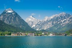 Österreich, Pertisau und Achensee See Stockbilder