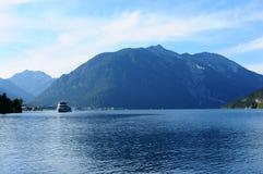 Österreich: See Achensee in Tirol Lizenzfreie Stockfotografie